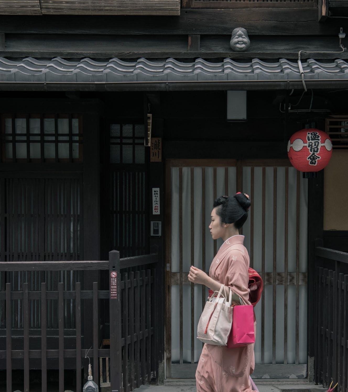 Κοπέλα στην Ιαπωνία