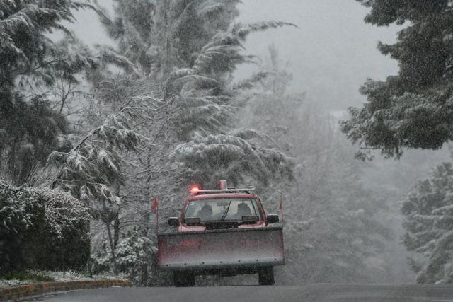 Κακοκαιρία Μπουλντόζα και χιόνια