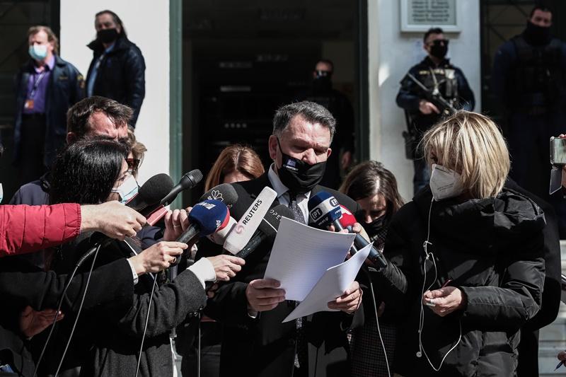 Απολογία του Δημήτρη Λιγνάδη ενώπιον της ανακρίτριας