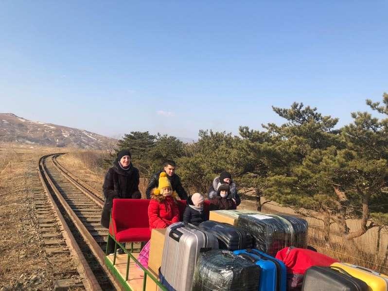 Ρώσοι Βόρεια Κορέα