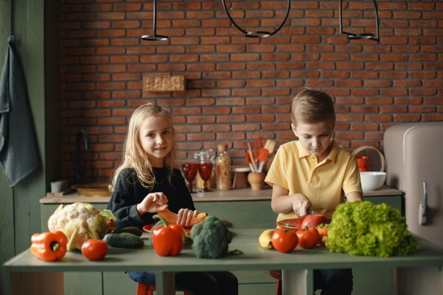 Παιδιά και λαχανικά
