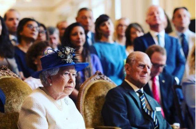 Πρίγκιπας Φίλιππος και Βασίλισσα Ελισάβετ