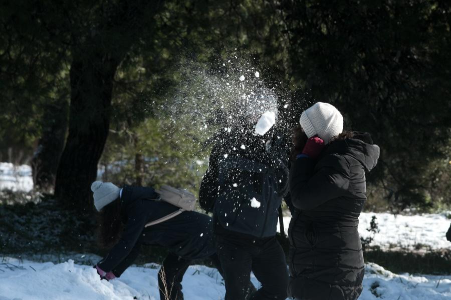 Χιονοπόλεμος