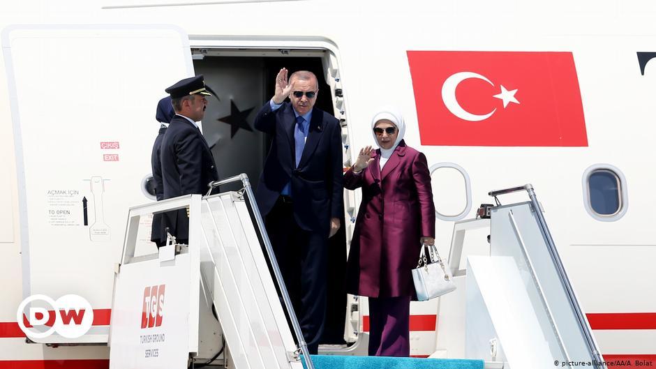 Ερντογάν αεροπλάνο