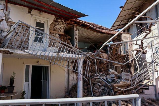 Σεισμός σπίτι