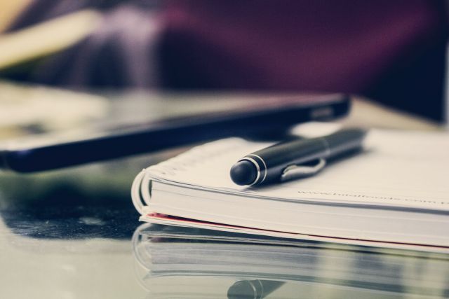 Τετράδιο στυλό