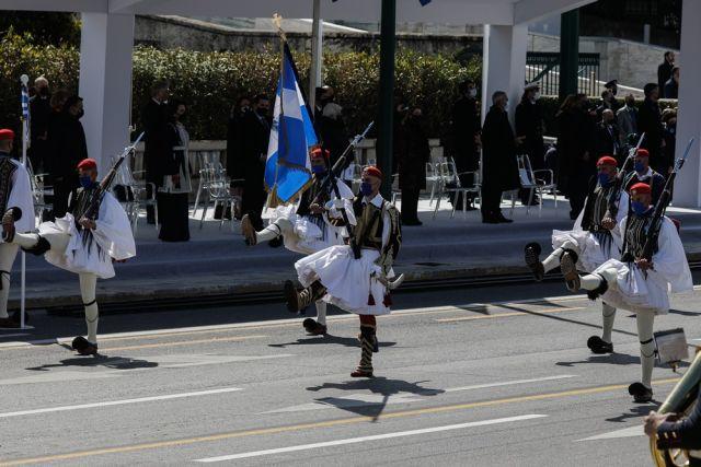 Προεδρική φρουρά παρέλαση 2021