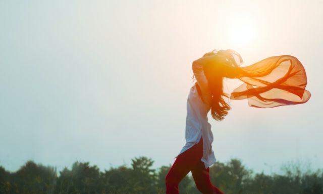 Κοπέλα ήλιος