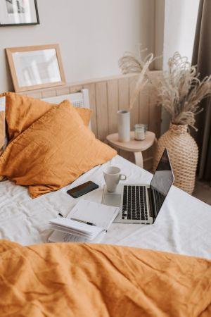 καφές laptop