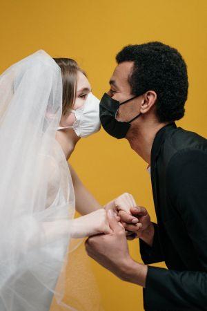 ζευγάρι μάσκα